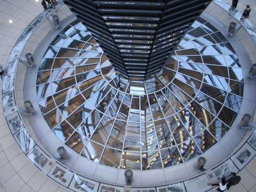 Reichstag Berlin Dome Glass Building Glass Dome