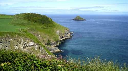 Remote Serene Natural Beauty Island Coast Shore