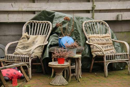 Rest Chair Home Relax Holidays Silent Wood Cozy