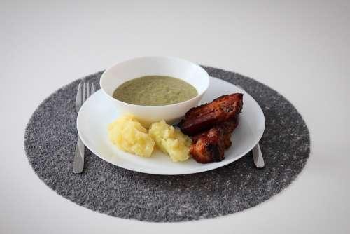 Rib Roast Sorrel Lunch Food Salt Healthy Meal