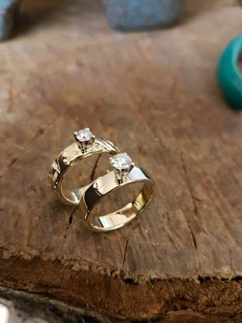 Ring Engagement Ring Wedding Jewelry Rings Gold