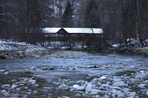 River Creek Landscape Nature Water Scenic Bach