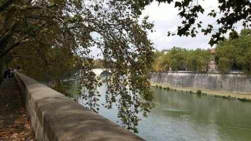 River Rome Italy Tiber