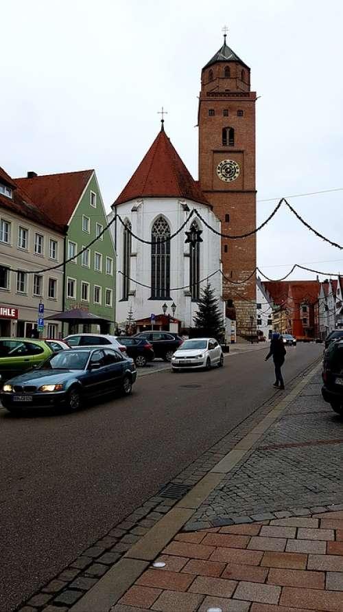 Road Church Donauwörth Auto