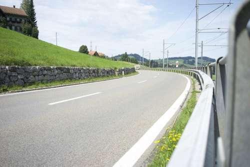 Road Alpine Mountains Route Landscape Curves