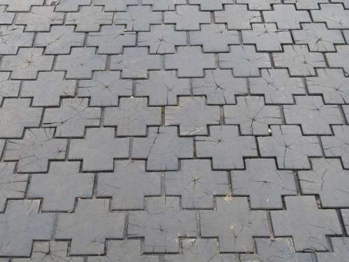 Road Ground Paving Stones Away Texture Wood Patch