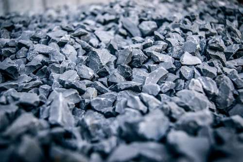 Rocks Stones Grey Close-Up Ground Hard Pattern