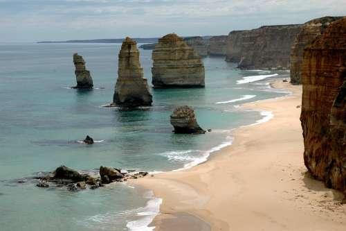 Rocks 12 Apostles Great Ocean Road