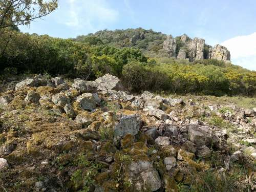 Rocks Spain Landscape Nature Mountain Light