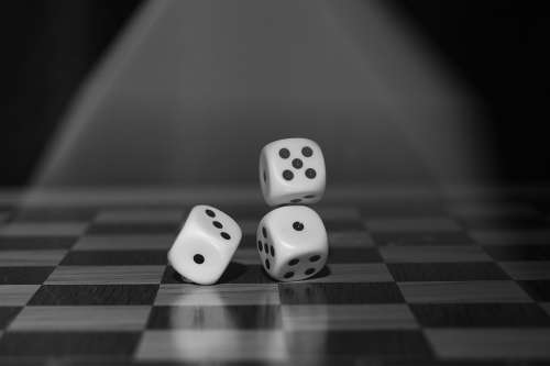 Roll The Dice Craps Board Game Points Random