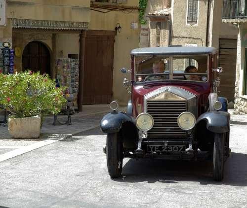 Rolls Royce Old Car Collector Car