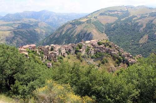 Romagnano Al Monte Campania Ghost Country Nature