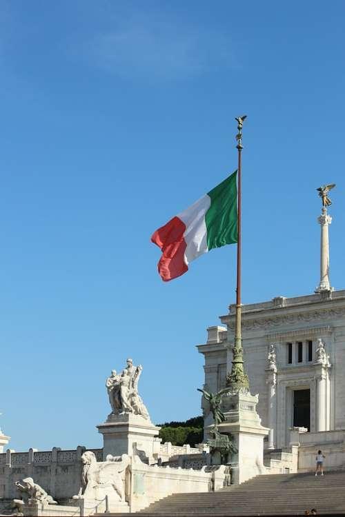 Rome Altare Della Patria Italy Monument
