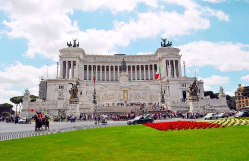 Rome Roma Victor Emmanuel Monument Italy