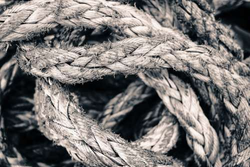 Rope Knot String Strength Cordage Tied