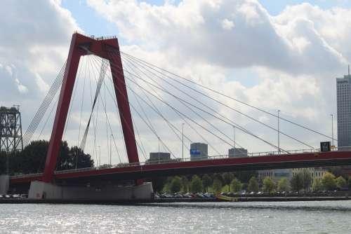 Rotterdam Netherlands Architecture Bridge