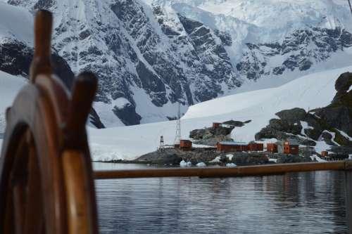 Rudder Antarctica Base Bay Paradise