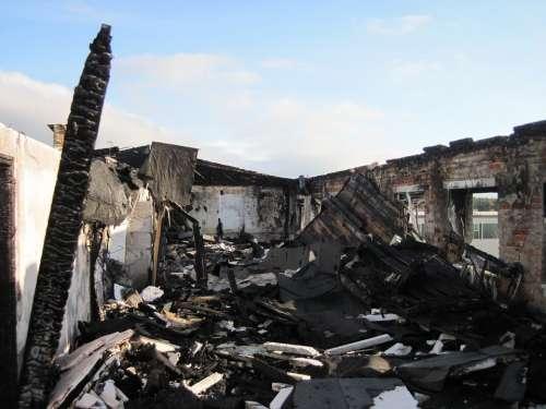 Ruin Debris Brand Destruction Devastation Collapse