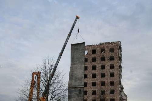 Ruin Bauruine Building Destroyed Broken Site