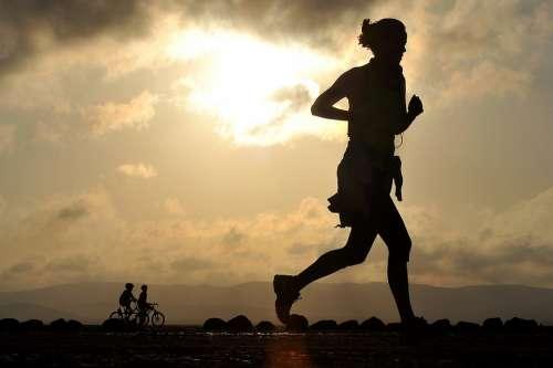 Running Runner Long Distance Fitness Female