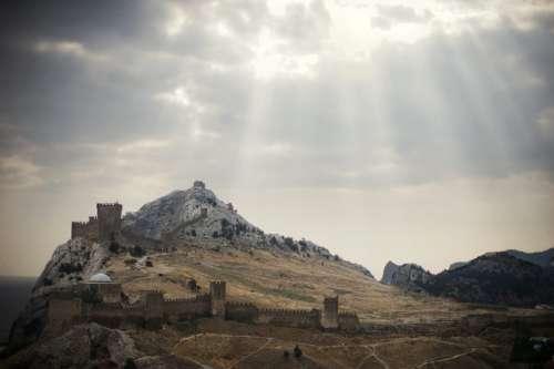 Russia Crimea Sudak Nature Landscape Summer