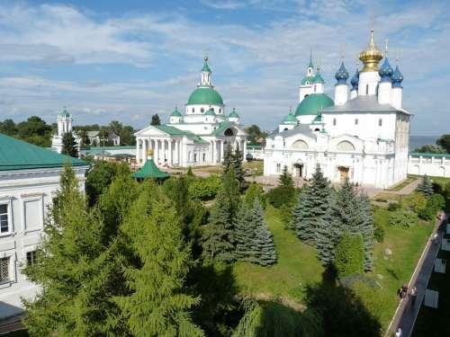 Russian Orthodox Church Rostov Russia Golden Ring
