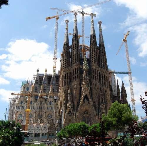 Sagrada Família Cathedral Barcelona Architecture