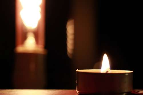 Sailing Light Fire Night Flame Candles Prayer