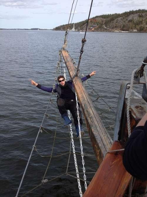 Sailing Ship Sweden Boat Summer Cruise Navigation
