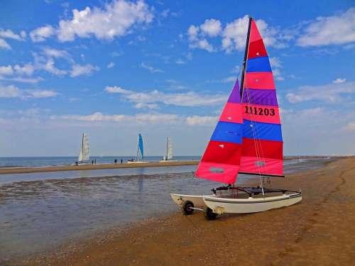 Sailing Catamaran Catamaran Sailing Leisure Sun