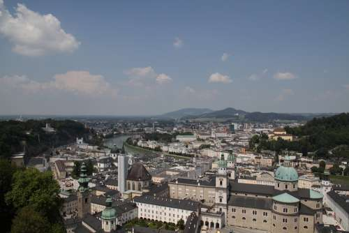 Salzburg Salzburgerland Salzburg City