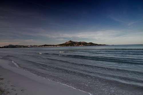Sand Sea Air Beach Water Coastal Landscape Waves