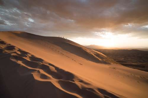 Sand Dunes Sand Dune Nature Tourism Landscape