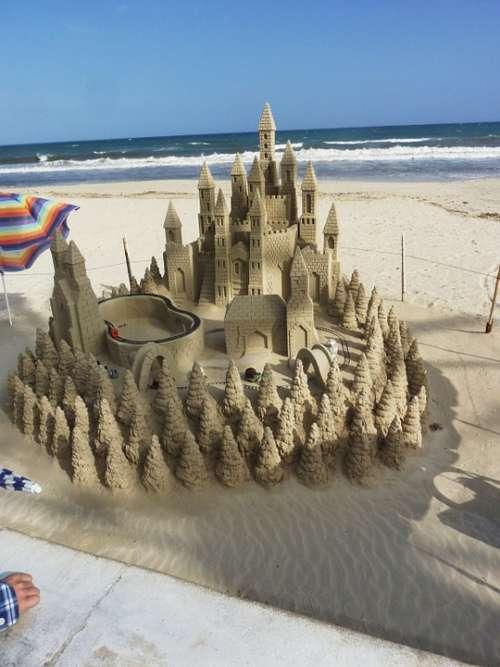 Sandburg Castle Beach Artists