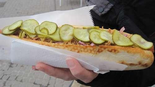 Sandwich Baguette Hot Dog Long Roll Bread
