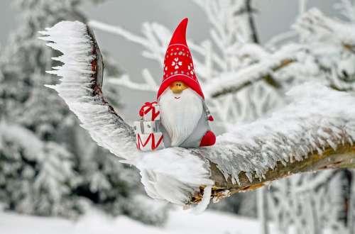 Santa Claus Christmas Motif Figure Nicholas Imp