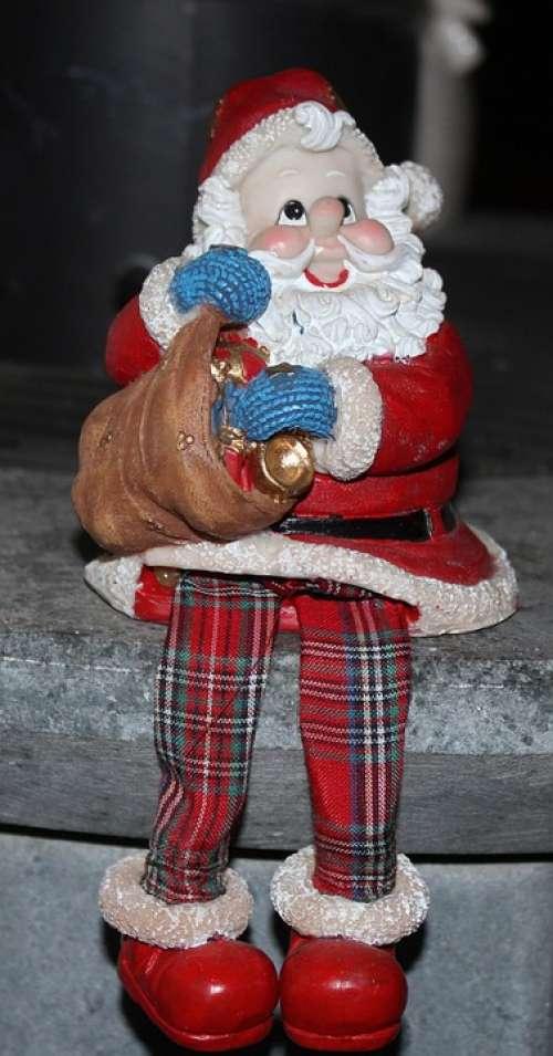 Santa Claus Christmas Christmas Market Figure