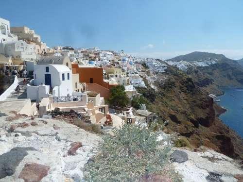 Santorini City Greece