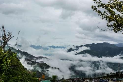 Sapa Mountain Cloud Sky