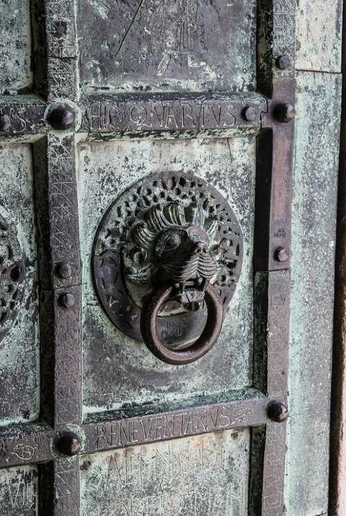 Sash Door Bronze Artistic