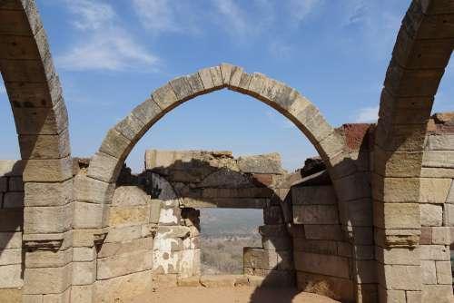 Sat Kaman Seven Arcs Champaner-Pavagadh