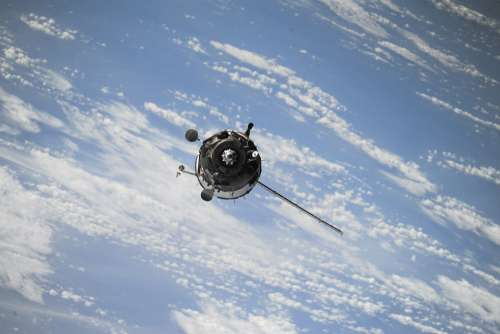 Satellite Space Spaceship Station Science Universe