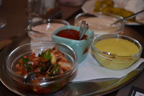 Sauces Dipping Sauce Power Supply Vegetarian Salsa