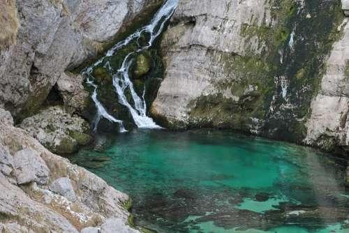 Savica Slovenia Waterfall
