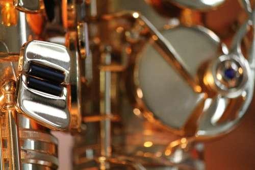 Saxophone Music Instrument Musician Sound Jazz