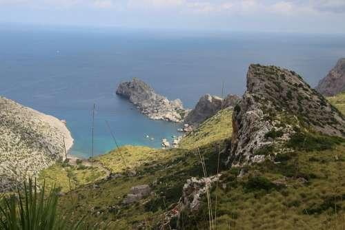 Scenic Seascape Sea Ocean Water Landscape Coast