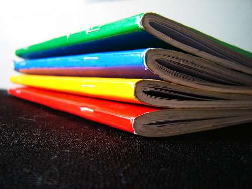 School Education Colors Learning Study