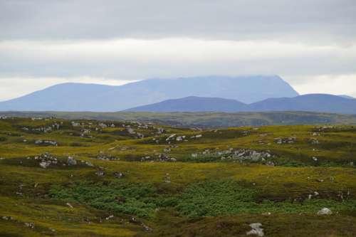 Scotland Highlands And Islands Plateau Landscape