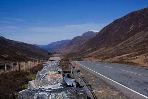 Scotland The Highlands Achnasheen Loch A Chroisg