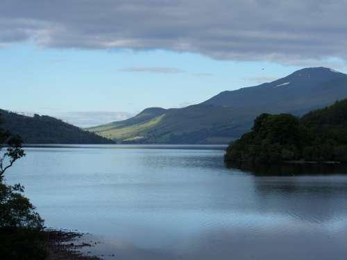 Scotland View Landscape Nature Outdoor Summer